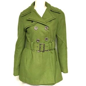 Miss sixty wool blend belted coat